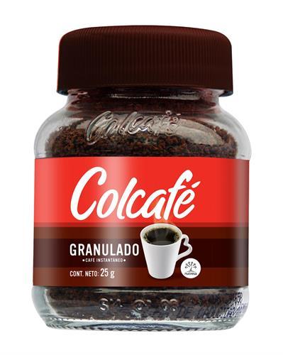 Foto CAFE SOLUBLE GRANULADO COLCAFE 25GR FCO de