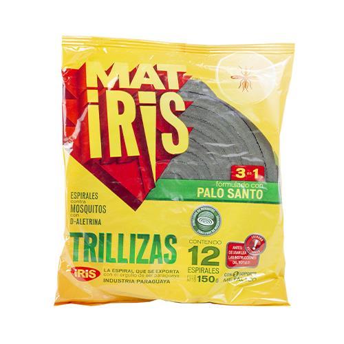 Foto ESPIRAL MATIRIS TRILLIZAS BOLSA 12 UNIDADES de