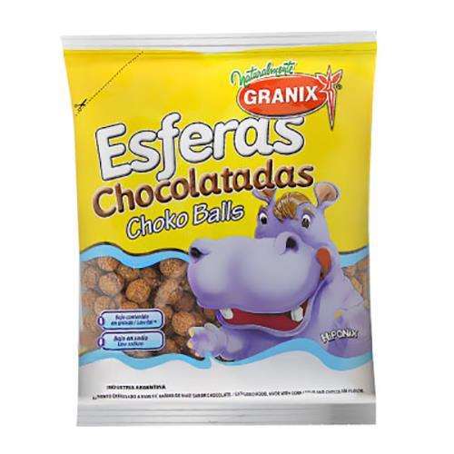 Foto CEREAL ESFERAS DE CHOCOLATE 190 GR GRANIX BSA de
