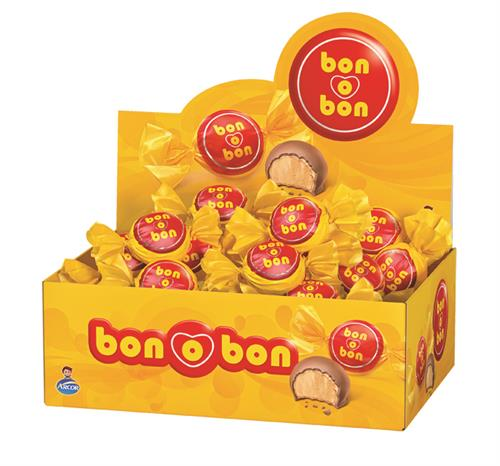 Foto BOMBONES DE CHOCOLATE C/LECHE 450GR BON O BON CJA  de