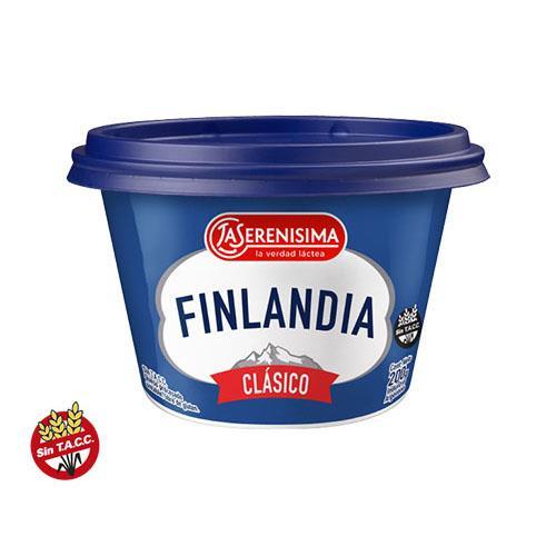 Foto QUESO PROCESADO CLASICO UNTABLE 200GR FINLANDIA POT de