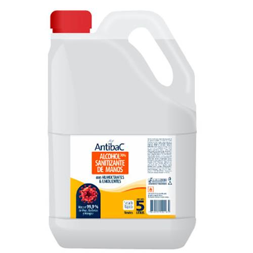 Foto ALCOHOL SANITIZANTE P/MANOS MAR ANTIBAC 5L BDN de