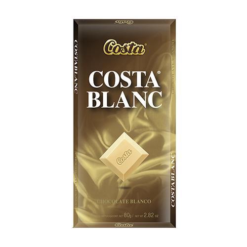 Foto CHOCOLATE BLANCO COSTA BAR 80 GR de