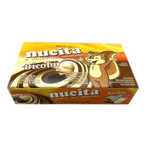 Foto CHOCOLATE BICOLOR 48 UNIDADES NUCITA DISPLAY de