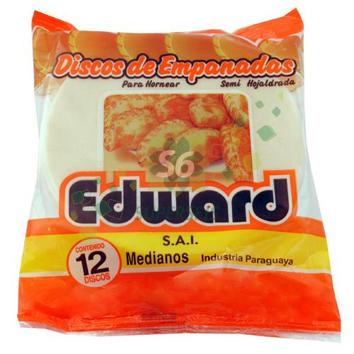 Foto DISCO PARA EMPANADA HORNO EDWARD 12 UNIDADES de
