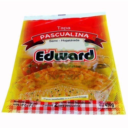 Foto TAPAS PARA PASCUALINA EDWARD 450 GR. de