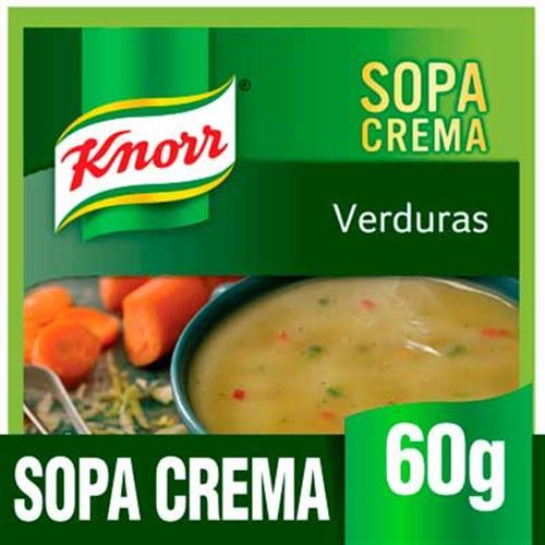 Foto SOPA DE VERDURA 10X60GR KNORR PLA de