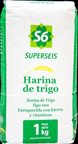 Foto HARINA DE TRIGO SUPERSEIS 1KG de
