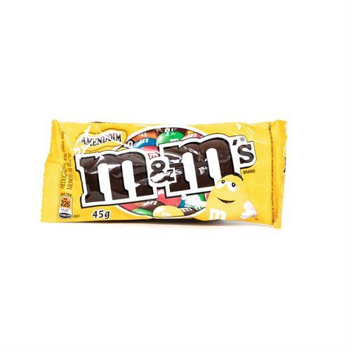 Foto CONFITES M&M S CHOCOLATE C/MANI 45GR PAQ de