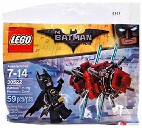 Foto BATMAN IN THE PHANTOM ZONE LEGO REF 30522 S/E  de