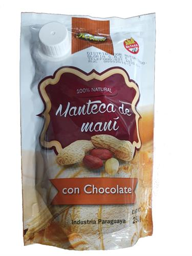 Foto MANTECA DE MANI CON CHOCOLATE 250GR KELWA DOYP de