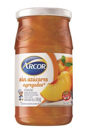 Foto MERMELADA DE DURAZNO ARCOR S/AZUCAR 390GR FCO de