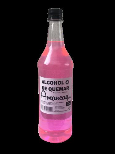 Foto ALCOHOL DE QUEMAR AMANCAY 1 LITRO de