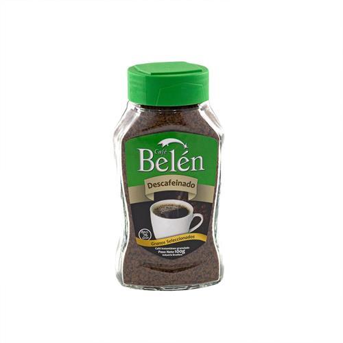 Foto CAFE INSTANTANEO DESCAFEINADO 100GR BELEN FRASCO  de