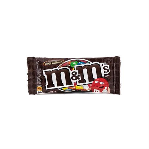 Foto CONFITES M&M S CHOCOLATE 45GR PAQ  de