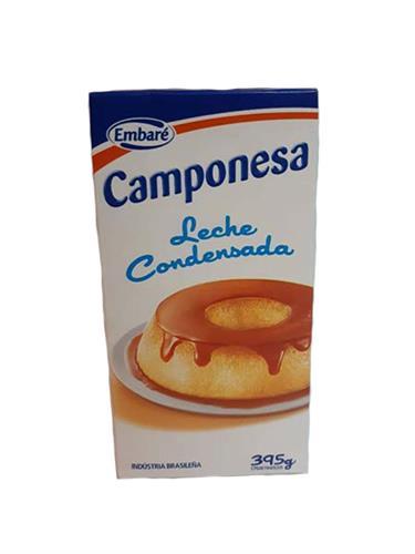 Foto LECHE CONDENSADA EMBARE 395GR CAMPONESA TETRA de