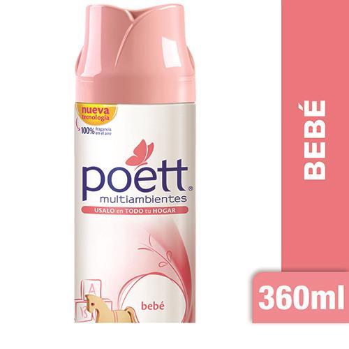 Foto DESODORANTE DE AMBIENTE POETT BEBE 360ML de