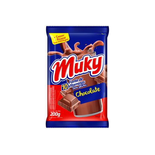 CHOCOLATE EN POLVO BOLSA MUKY 200gr