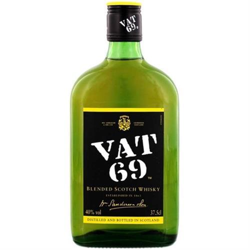 """Foto WHISKY """"VAT 69"""" FINEST 375ML de"""