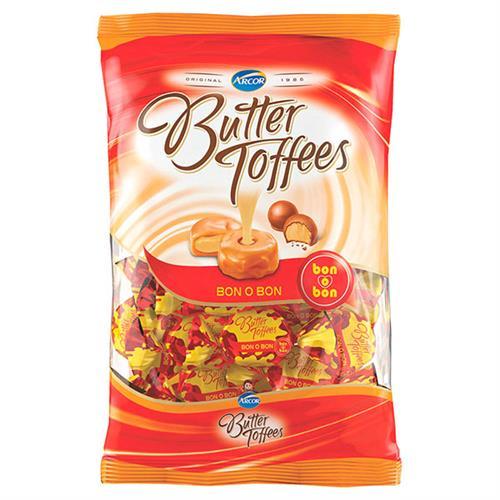 Foto CARAMELO BUTTER TOFFEES BON O BON 822GR ARCOR de