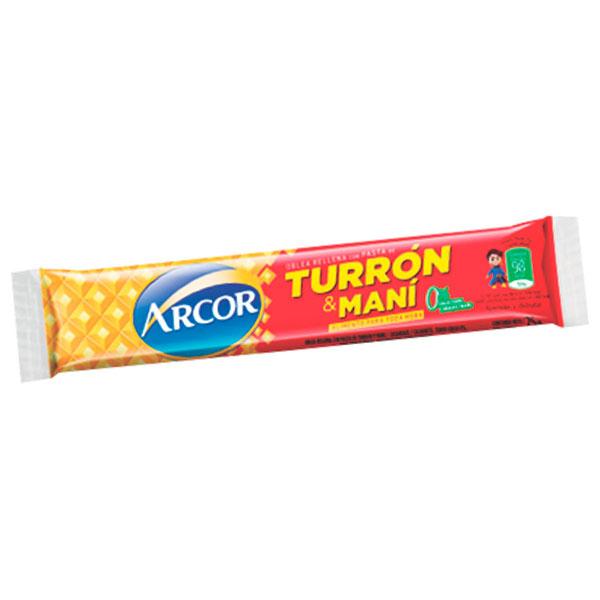 TURRON DE MANI ARCOR BAR 50 GR