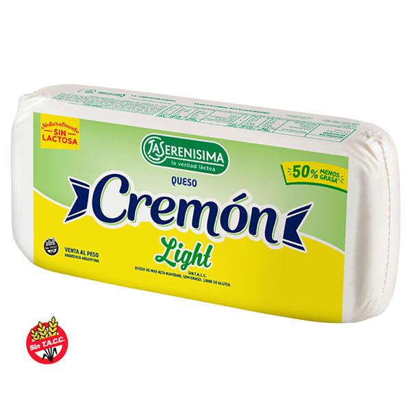 QUESO CREMON HORM LIGHT 3KG LA SERENISIMA S/E