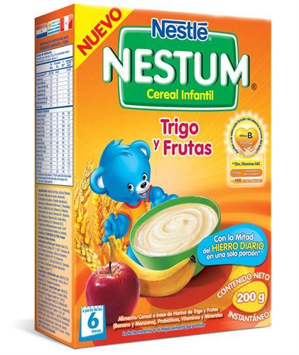 Foto CEREAL NESTUM TRIGO CON FRUTAS 12X200GR NESTLE CAJA  de