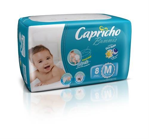Foto PAÑAL BABY M 8UN CAPRICHO BUMMIS  PAQ  de