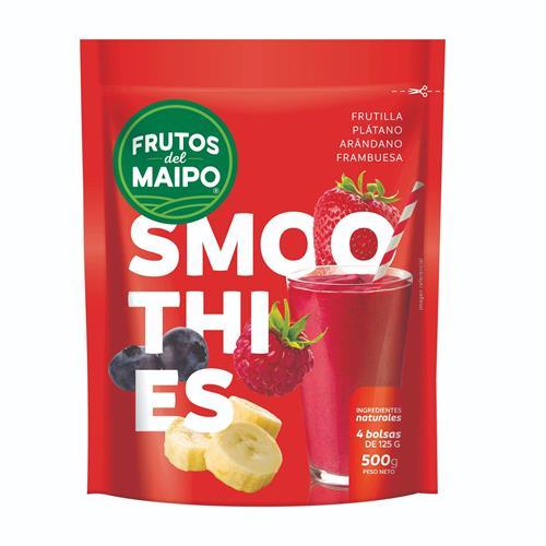 Foto SMOOTHIES ROJO FRUTOS DEL MAIPO 500GR BSA de