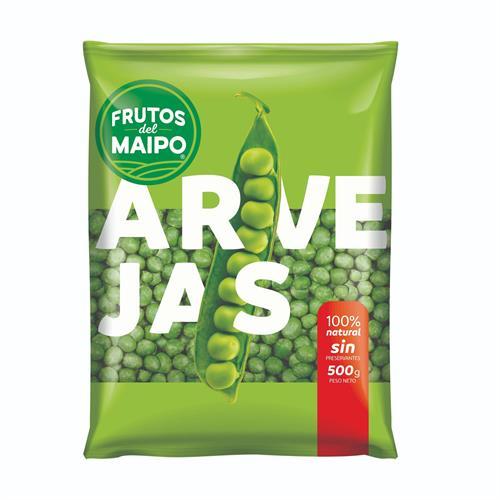 Foto ARVEJAS 500GR FRUTOS DEL MAIPO PAQUETE  de