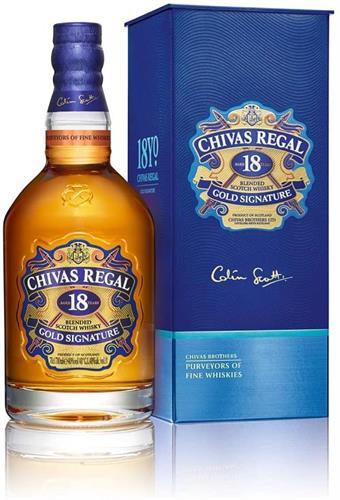 Foto WHISKY CHIVAS REGAL 18 AÑOS 750 ml de