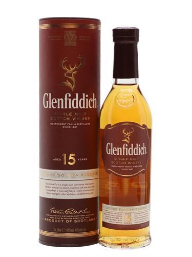 Foto WHISKY  GLENFIDDICH 15 AÑOS BOT 750 ML. de