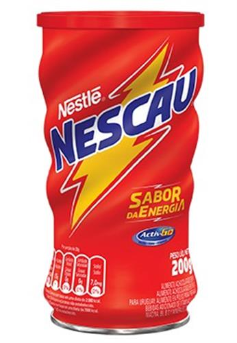 Foto CHOCOLATADA EN POLVO 200 GR NESCAU LATA de
