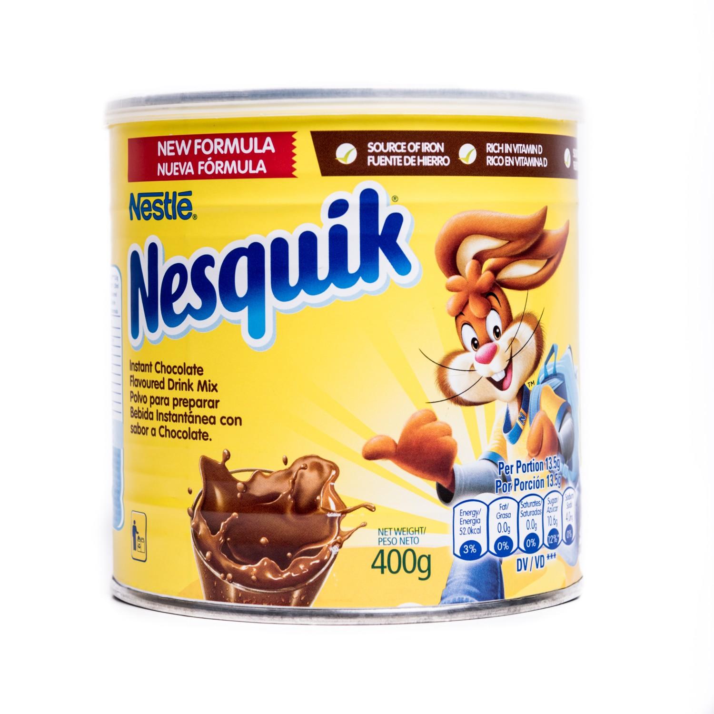 PREPARADO EN POLVO SABOR CHOCOLATE CON VIT A/B1/B12/D NESQUIK LAT