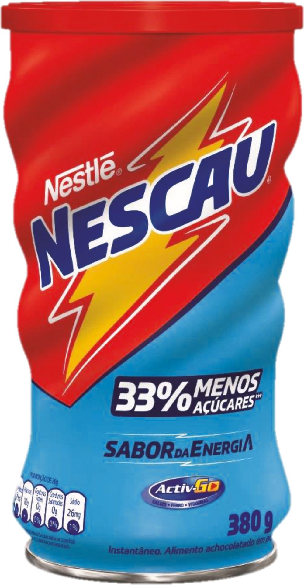 NESTLE NESCAU CHOCOLATE EN POLVO MENOS AZUCARES 380 GR