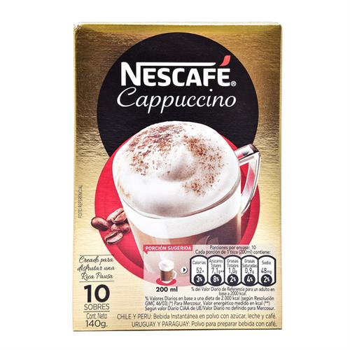 Foto CAFE CAPPUCCINO 140 GR NESCAFE SACHET de