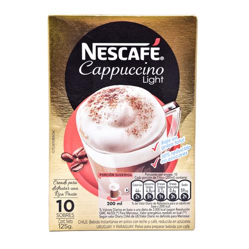Foto CAFE CAPPUCCINO LIGHT 125GR NESCAFE CJA de
