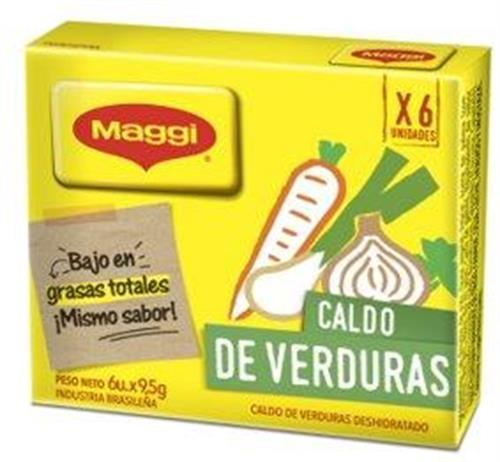 Foto CALDO DE VERDURAS 114 GR MAGGI CAJA  de