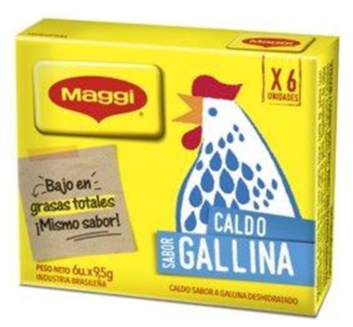 Foto CALDO DE GALLINA 114GR MAGGI CAJA  de