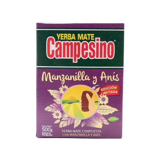 Foto YERBA MATE COMP MANZANILLA Y ANIS CAMPESINO 500GR CJA de