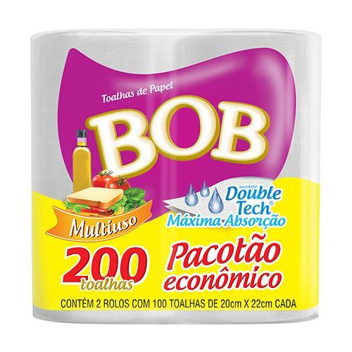 Foto TOALLA DE PAPEL BOB *200HOJAS de