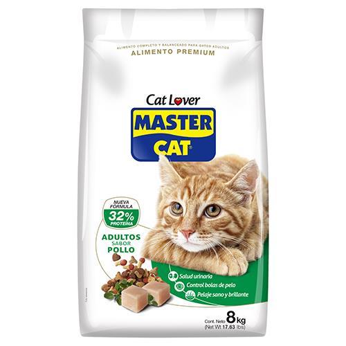 Foto ALIMENTO PARA GATO MASTER CAT ADULTO POLLO 8 KG de