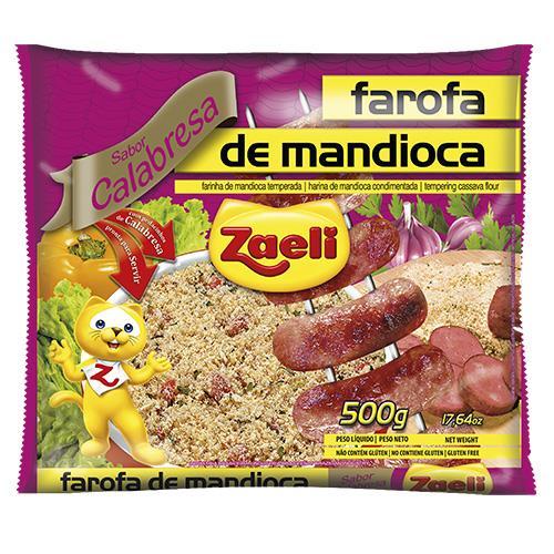 Foto ARINA DE MANDIOCA ZAELI CALABRESA PAQUETE 500 GR de