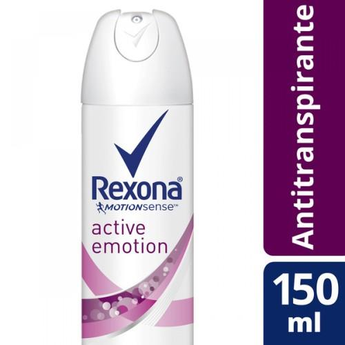 Foto DESODORANTE ACTIVE EMOTION REXONA 150ML de