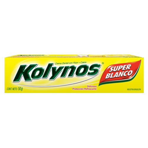 CREMA DENTAL SUPER BLANCO KOLYNOS 50gr