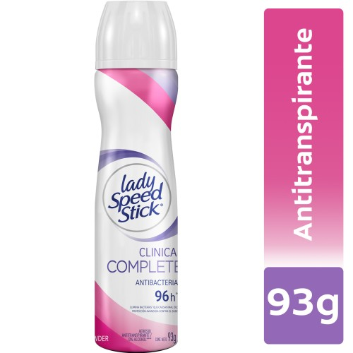 DESODORANTE CLINICAL COMPLETE PROTECTION LADY SPEED STICK 91gr