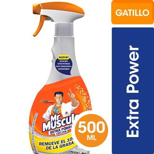 Foto LIMPIADOR COCINA EXTRA POWER MR. MUSCULO 500ML de