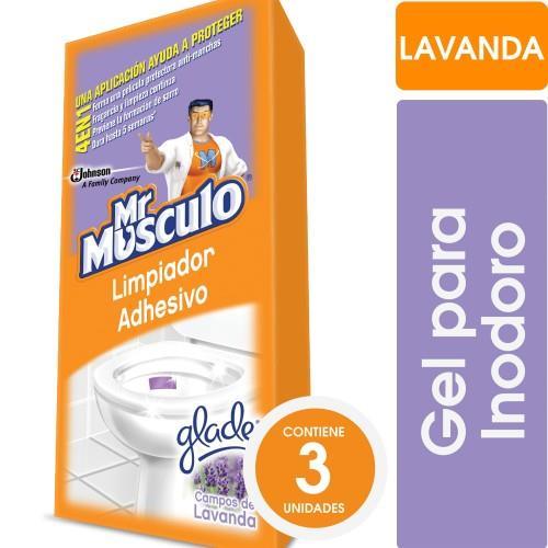 Foto LIMPIADOR ADHESIVO PARA BAÑO MR MUSCULO 3UNID de