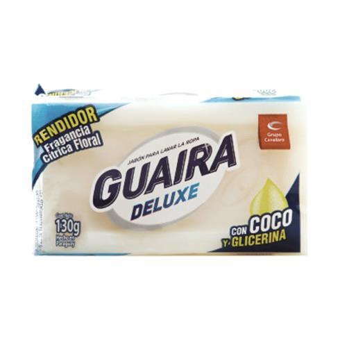 Foto JABON DE COCO CON GLICERINA GUAIRA DELUXE CAVALLARO 130GR de