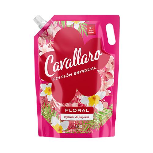 SUAVIZANTE PARA ROPA FLORAL CAVALLARO 1600ML
